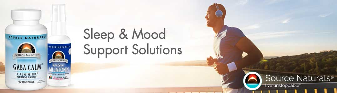 Source Naturals sleep and mood support