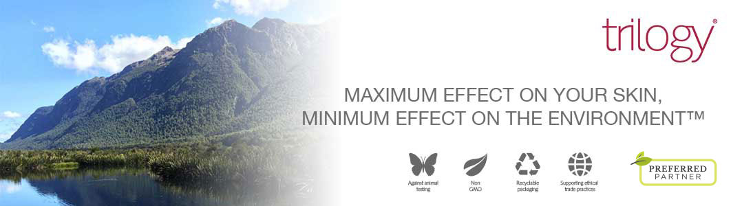Max effect on your skin, minimum effect on the environment