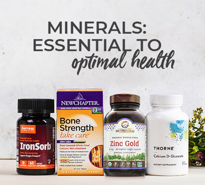 Minerals Available at Pharmaca