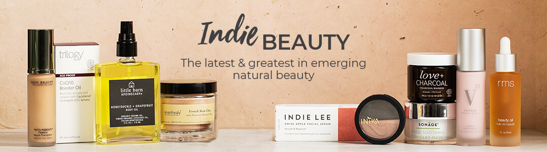 Indie Beauty at Pharmaca. The latest & greatest in emerging natural beauty