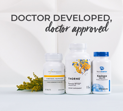 Doctor Trusted Brands at Pharmaca. Integrative Therapeutics, Thorne and Vital Nutrients