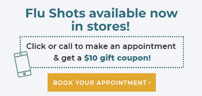 Flu Shots available now - External link to PharmacaRX website
