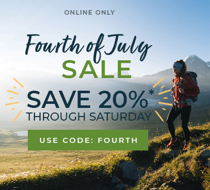 FLASH SALE! USE CODE FOURTH FOR 20% off