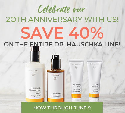 FLASH SALE! Dr. Hauschka 40% off