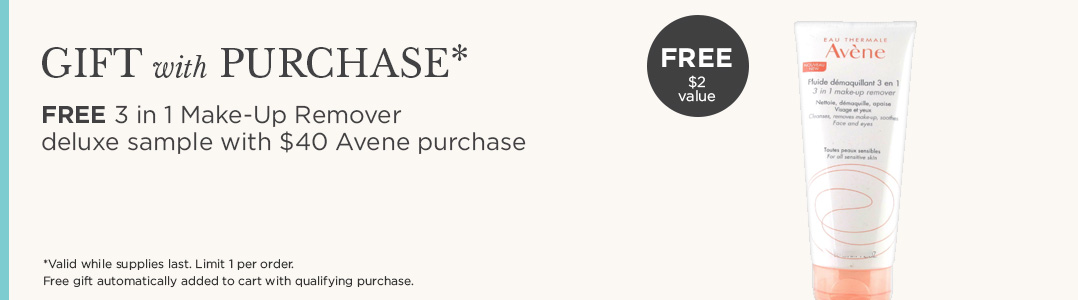 FREE Avene Gift with Purchase