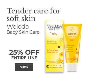 Shop Weleda Baby Skin Care - Tender Care for Soft Skin 25% off entire line