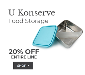 Shop U Konserve Food Storage 20% off entire line
