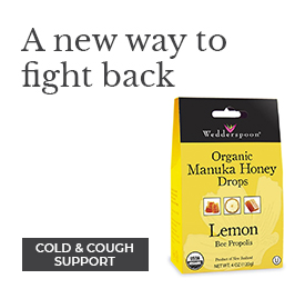 A new way to fight back - Wedderspoon Organic Manuka Honey Drops - Shop Cough and Cold Support