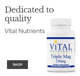 Dedicated to quality - VITAL NUTRIENTS