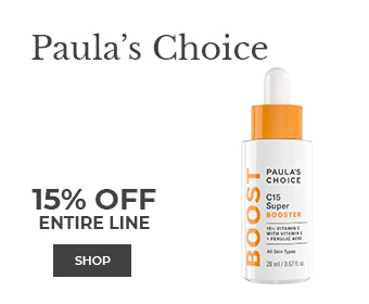 Shop Paula's Choice 15% off entire line