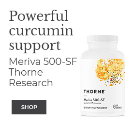 Shop Thorne Powerful Curcumin Support Meriva 500-SF
