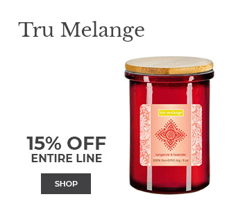 Tru Melange 15% off entire line