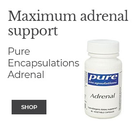 Maximum adrenal support Pure Encapsulations   Adrenal
