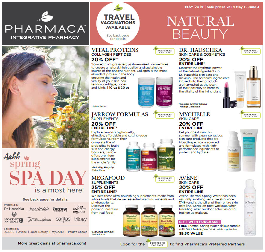 click to download 2019 May Pharmaca Store Flyer