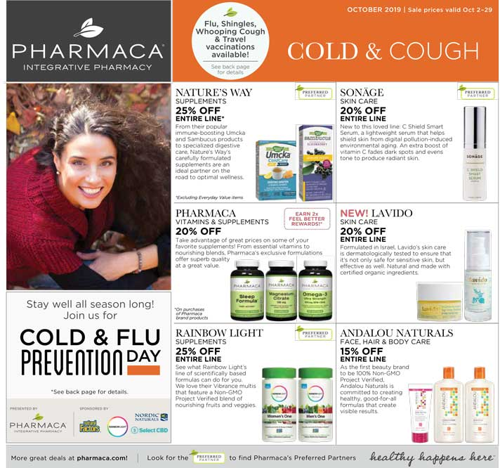 Page 1 of 2019 October Pharmaca Store Flyer
