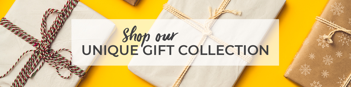 Shop our unique gift collection