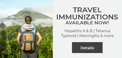 Travel Immunizations Services