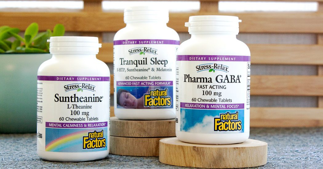 Sleep with Natural Factors Stress-Relax
