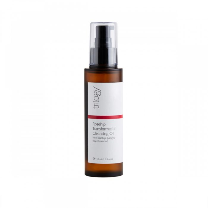 The Trilogy Transformation Cleansing Oil product against a white background.