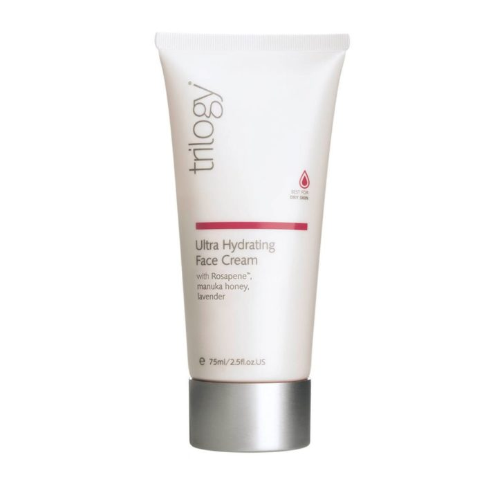 The Trilogy Ultra Hydrating Face Cream against a white background.